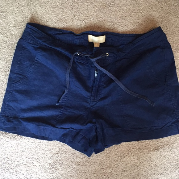 Banana Republic Pants - Banana Republic Navy Blue Cargo Shorts